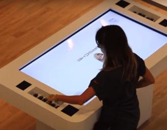 mesas interactivas